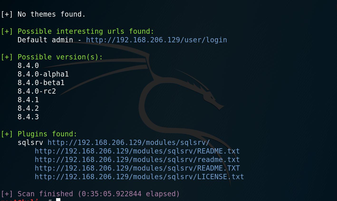 Exploiting Drupalgeddon 2 on Windows