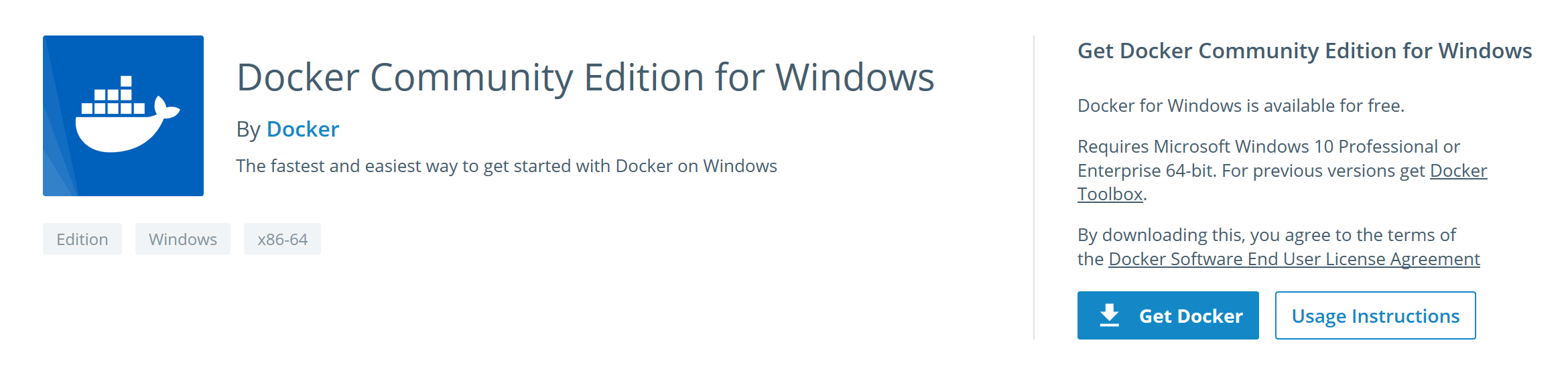 Kali Linux in Docker on Windows 10